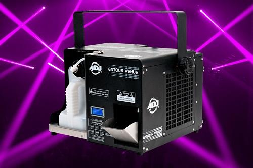 ADJ расширяет ассортимент генераторов тумана - Entour Venue.
