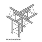 Dura Truss DT 23 T43-UTD   T-joint + up