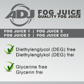 American DJ Fog juice 1 light 5л
